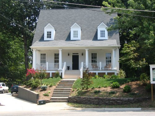 Blog bender construction company for Cape cod house with porch