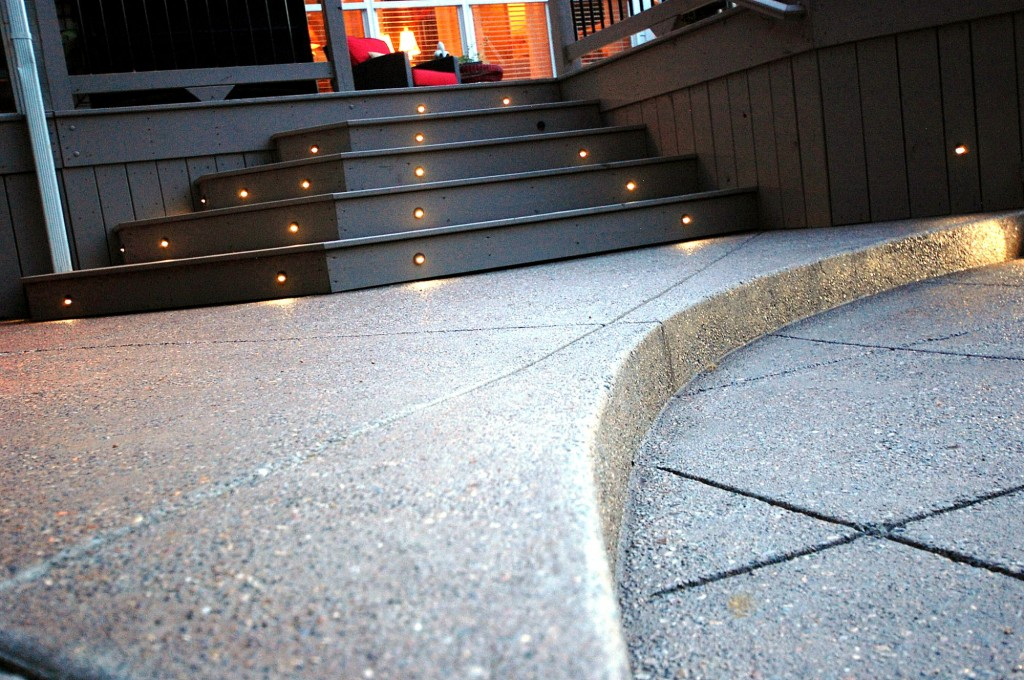 Outdoor Stairs and concrete detail